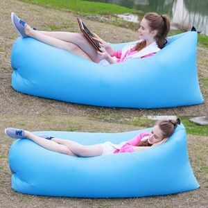 Other - Blue Inflatable Couch
